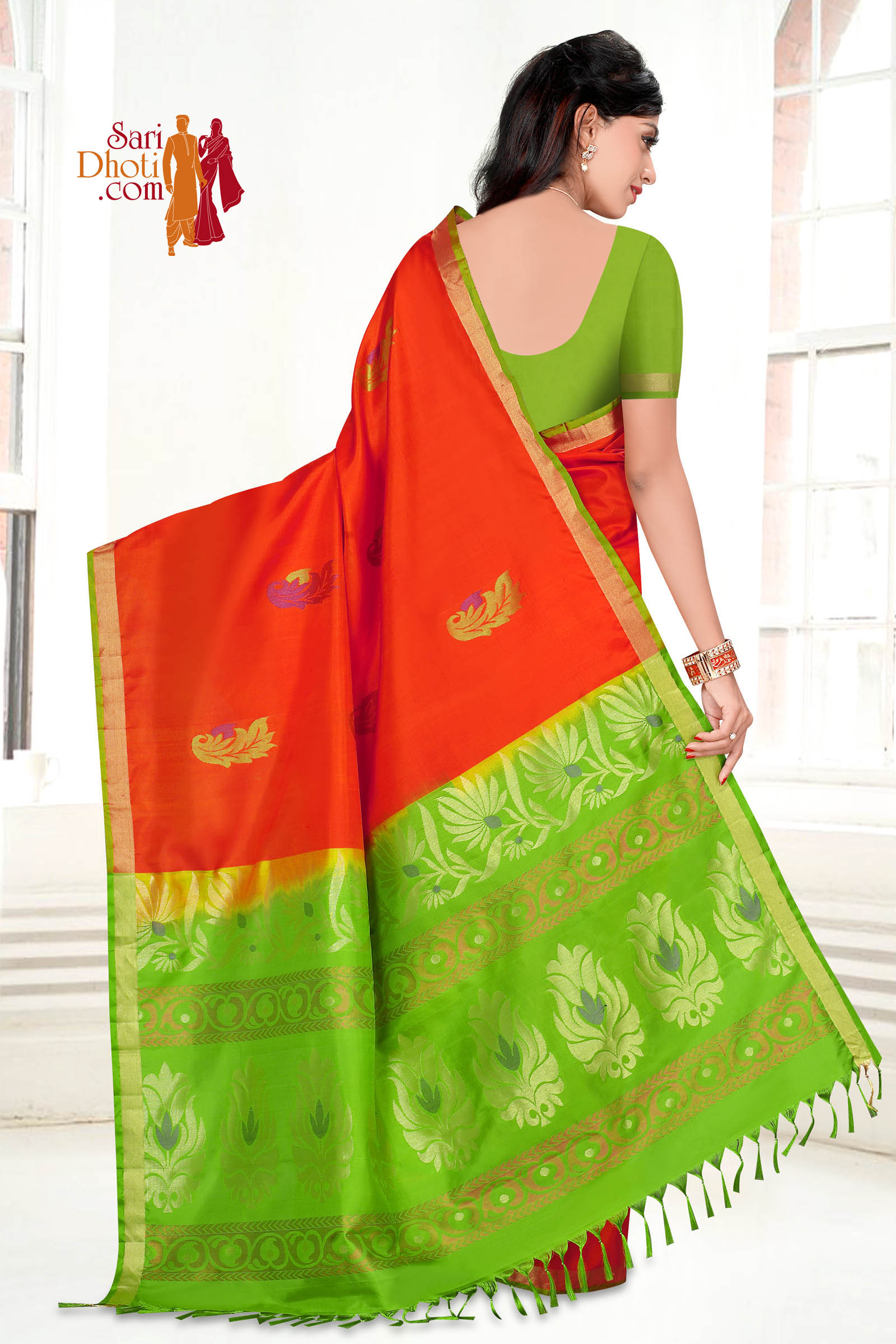 Soft Silk Saree 5842