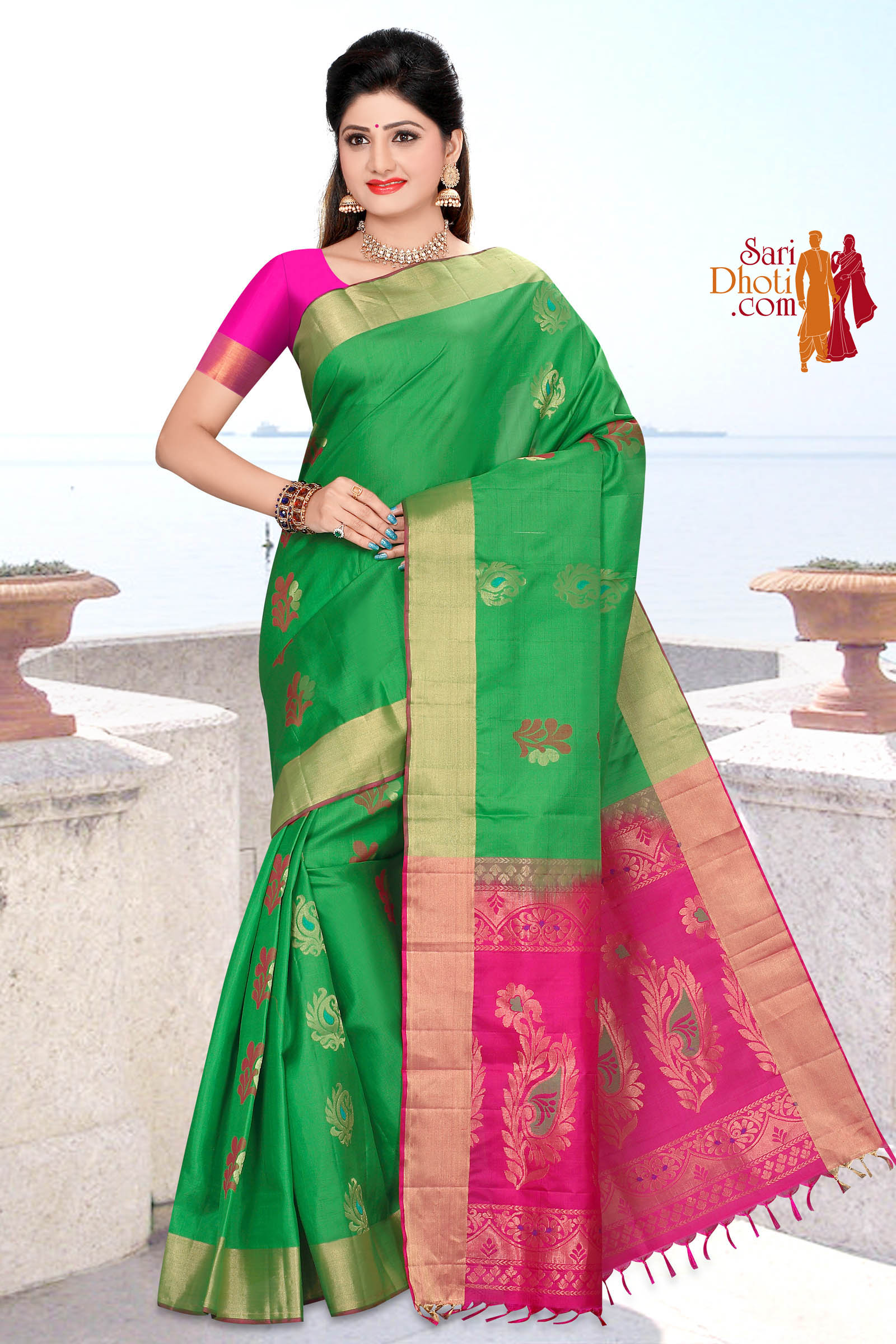 Soft Silk Saree 5843