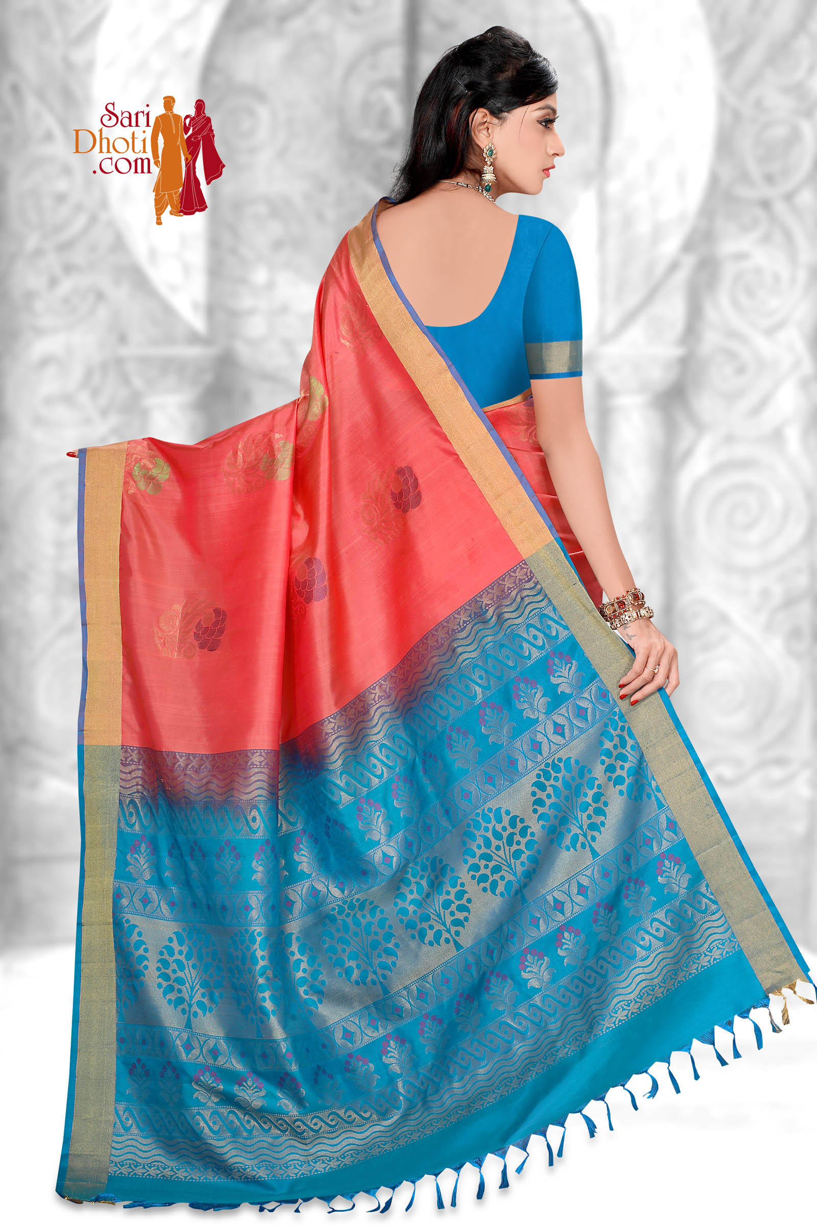 Soft Silk Saree 5845