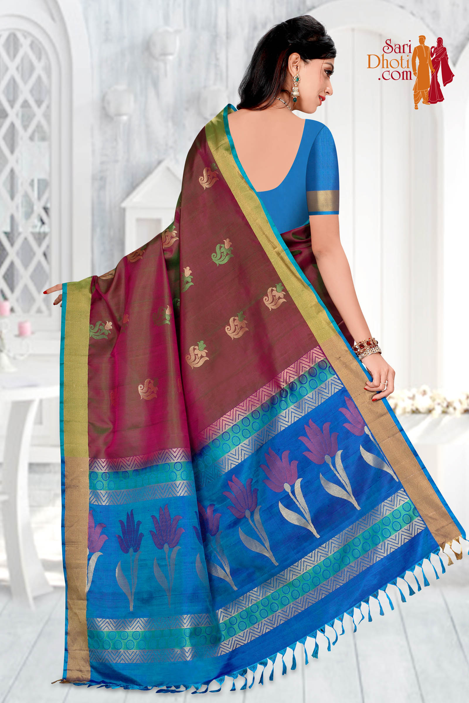 Soft Silk Saree 5847