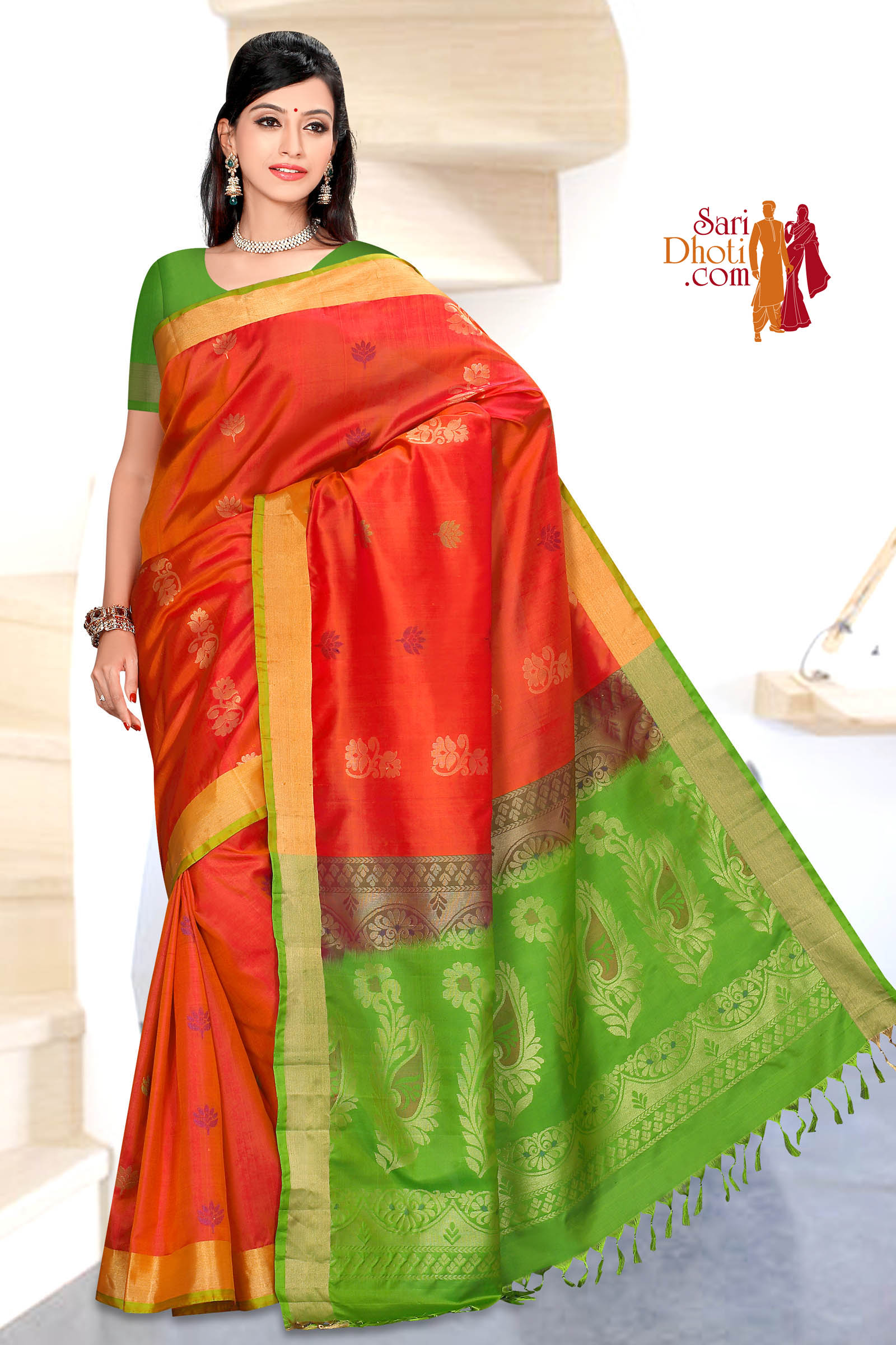 Soft Silk Saree 5849