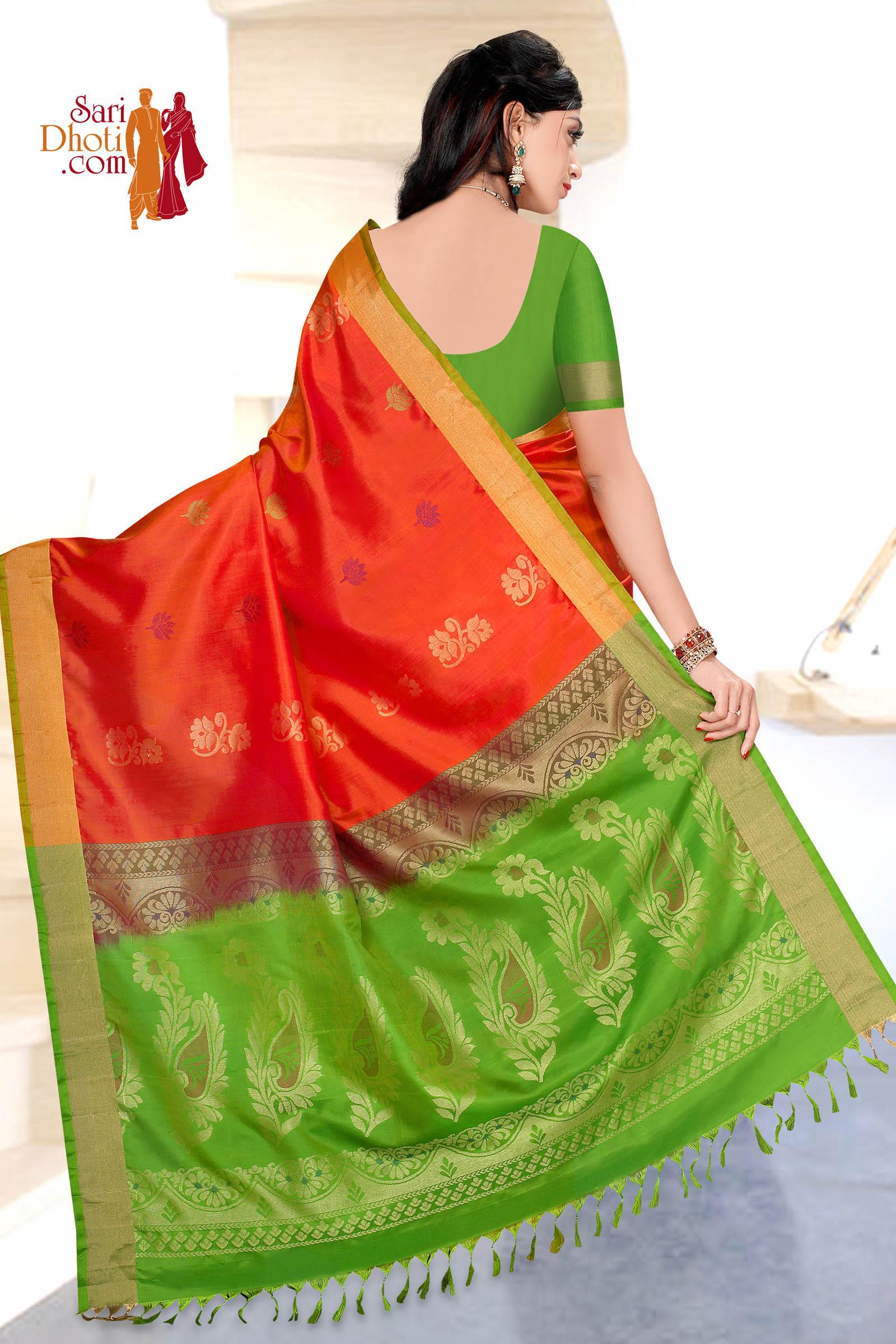 Soft Silk Saree 5849