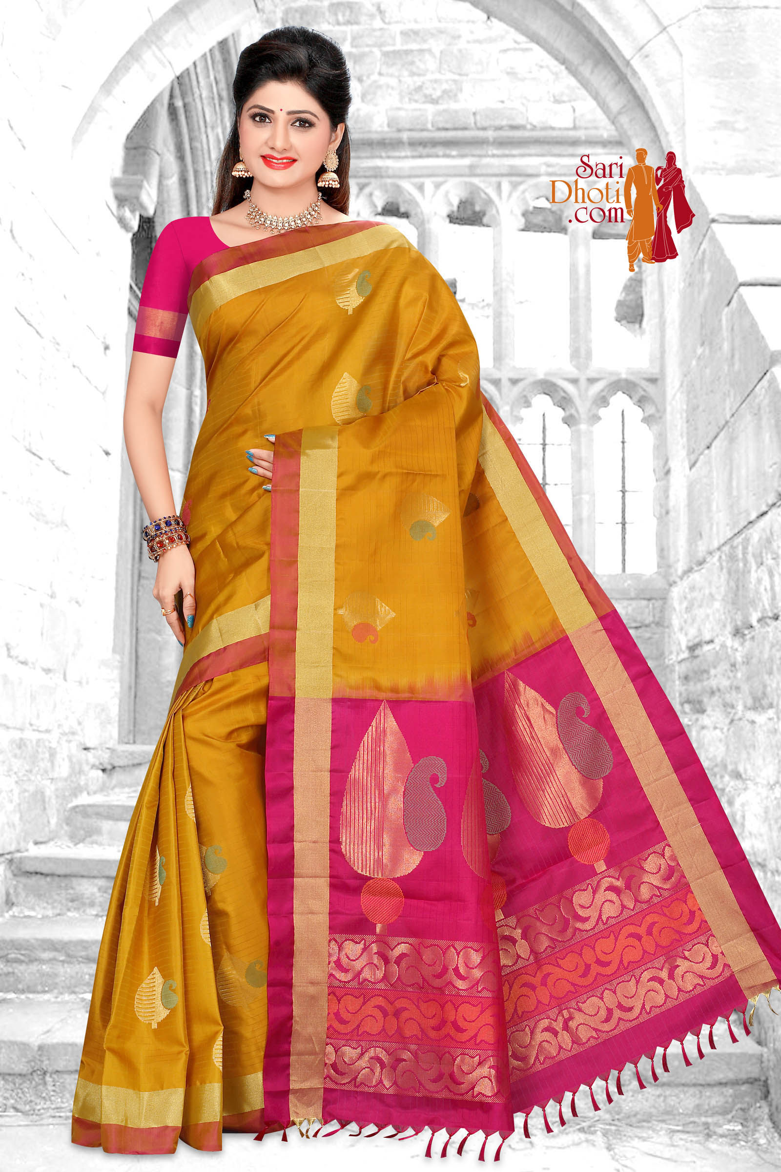 Soft Silk Saree 5854