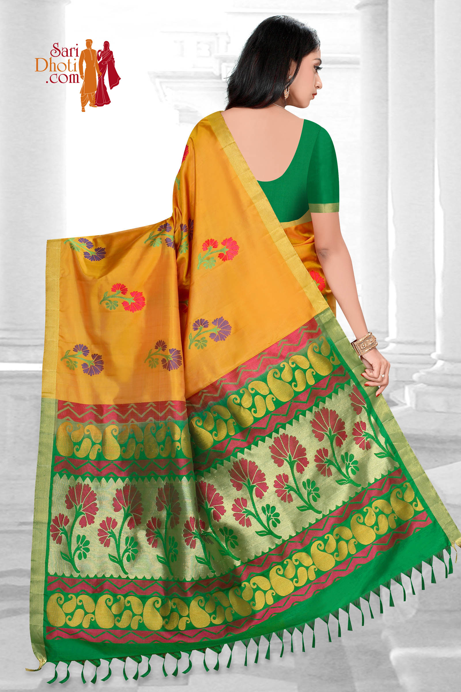 Soft Silk Saree 5855