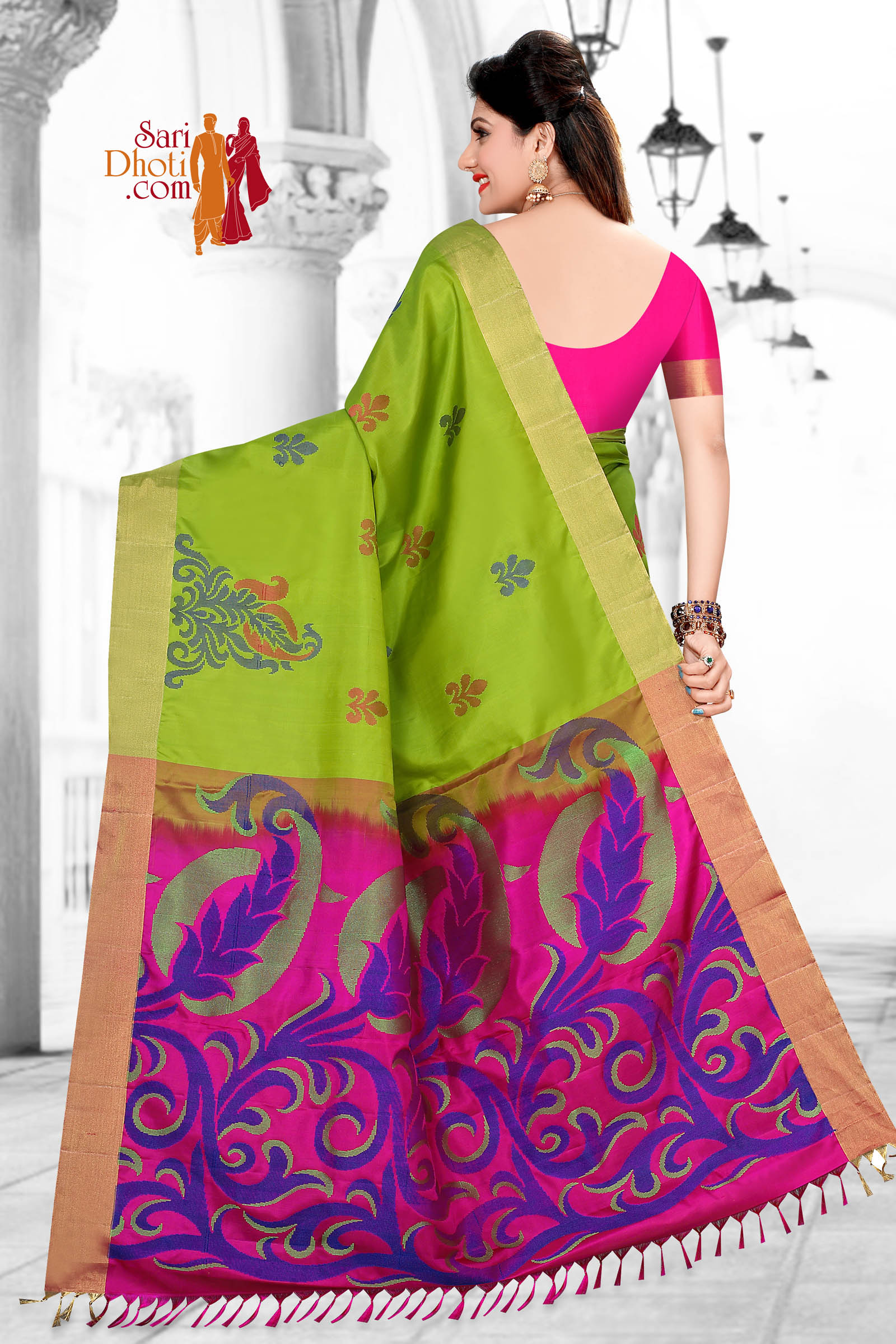 Soft Silk Saree 5856