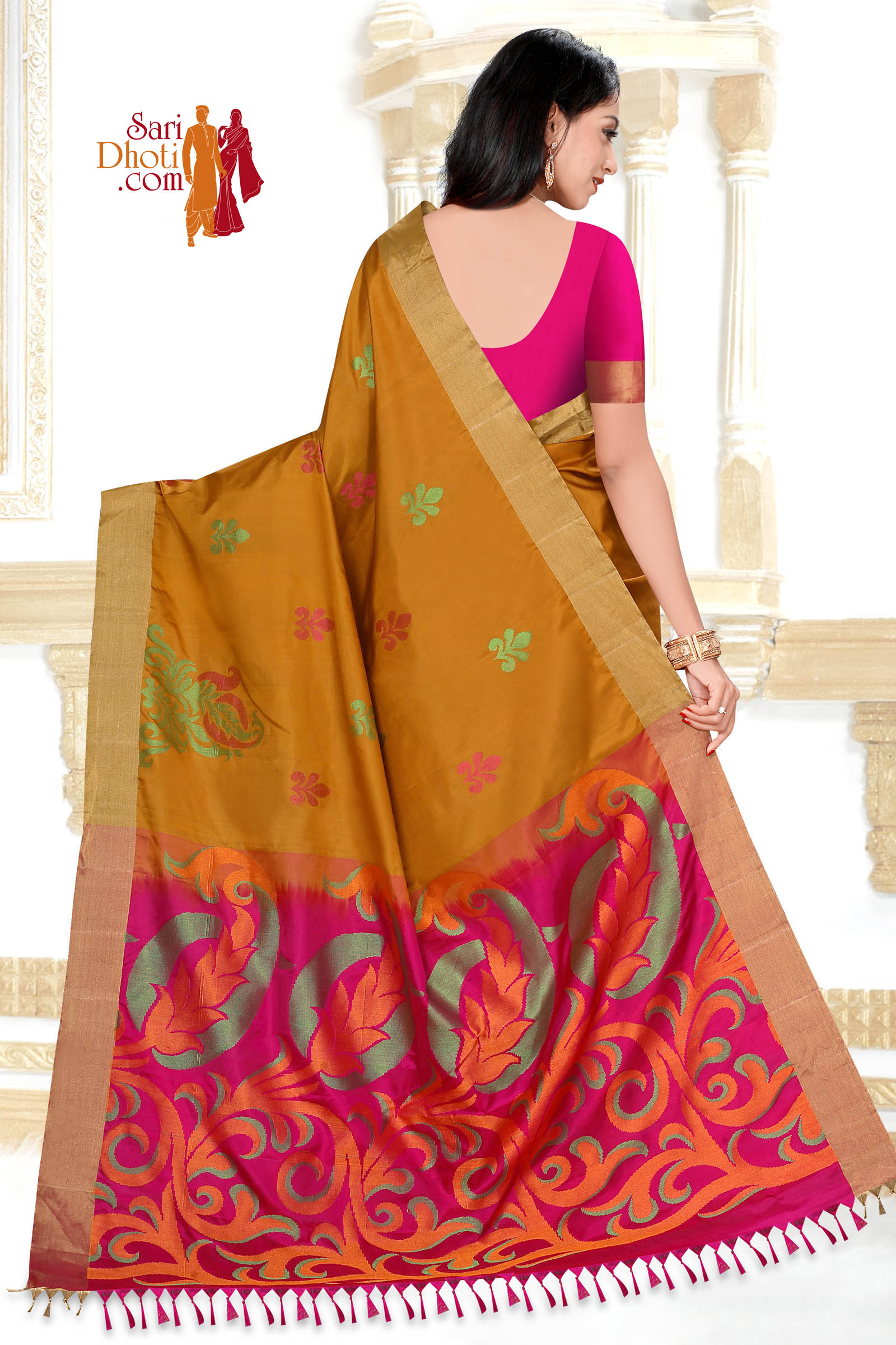 Soft Silk Saree 5857