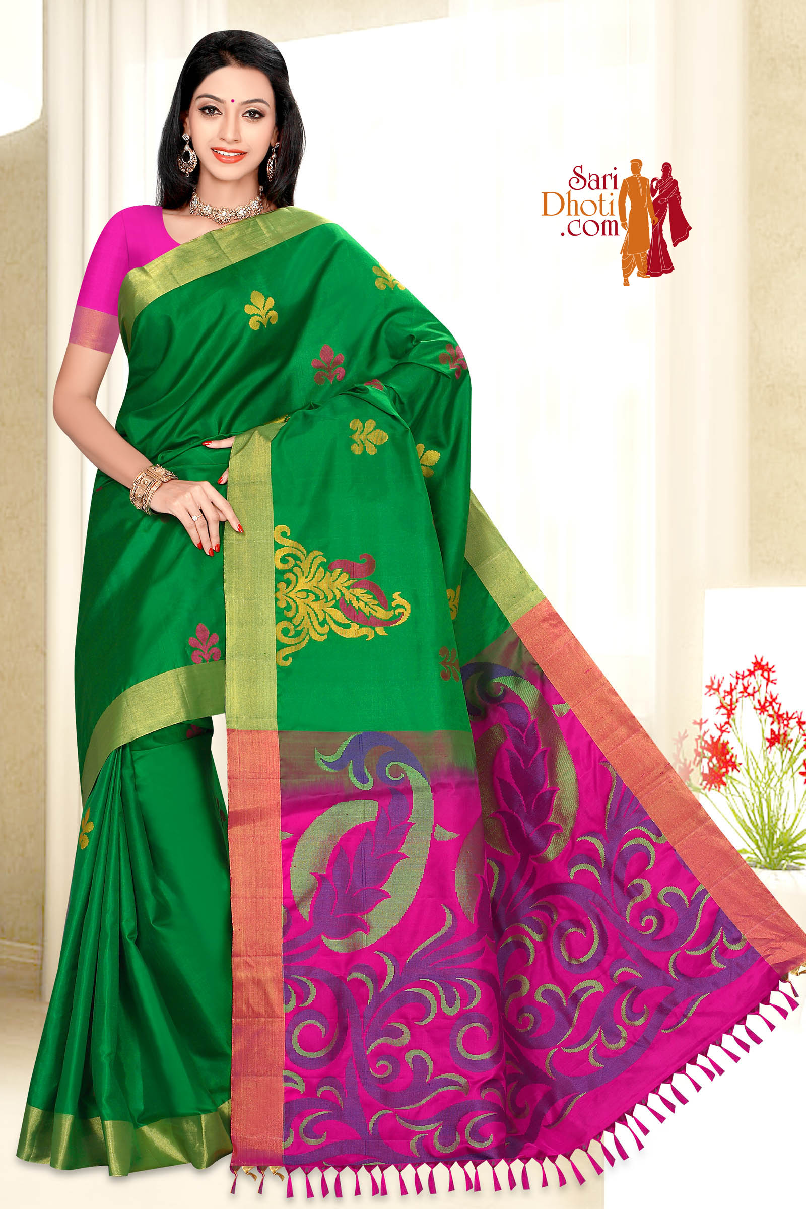 Soft Silk Saree 5858