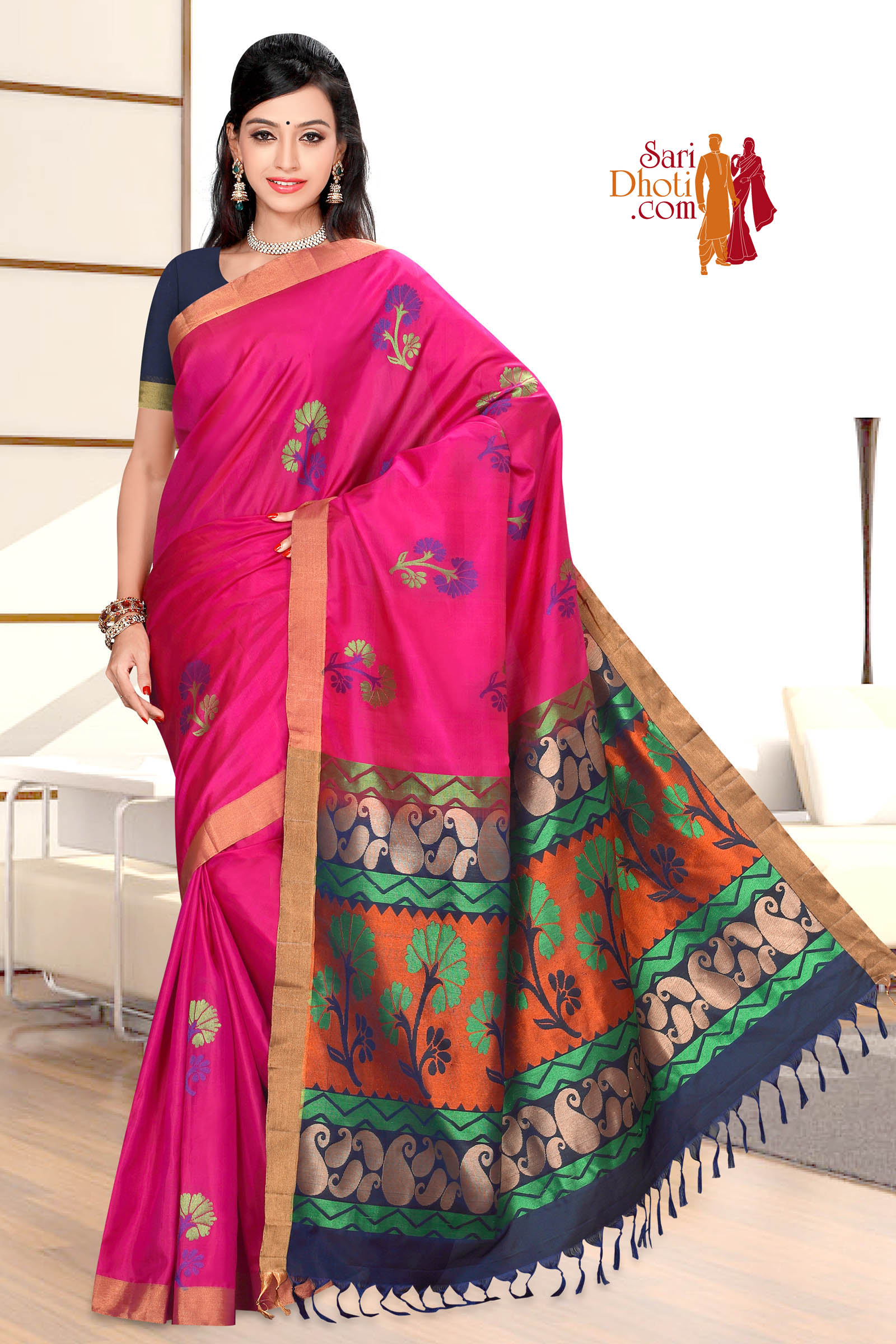 Soft Silk Saree 5859