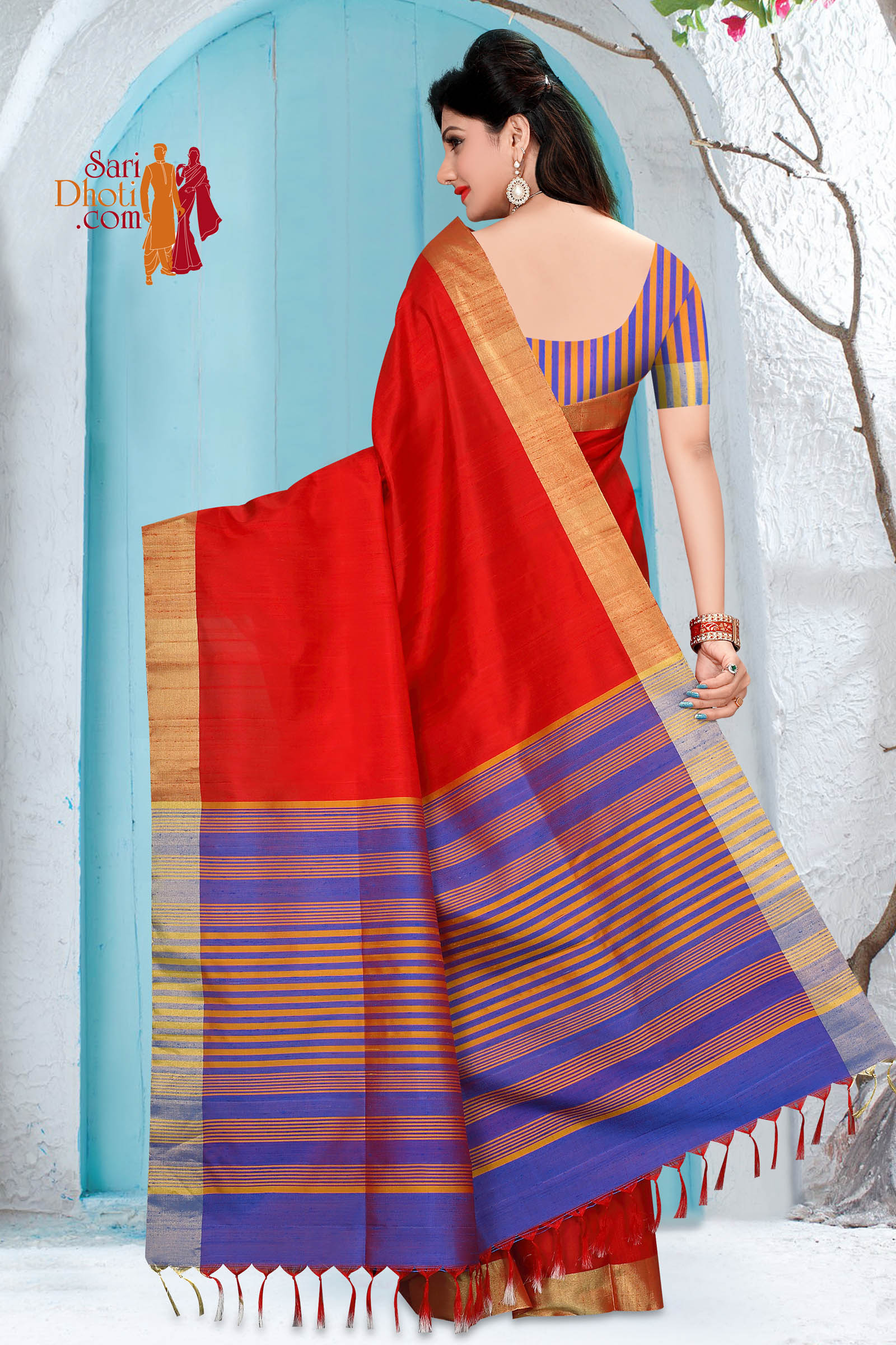 Soft Silk Saree 5863