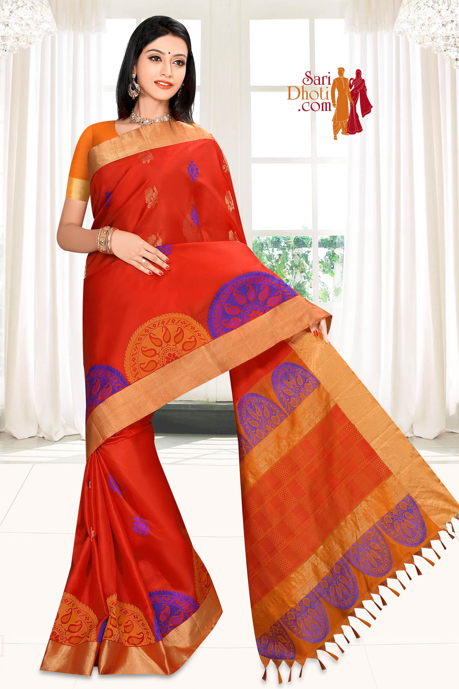 Soft Silk Saree 5866