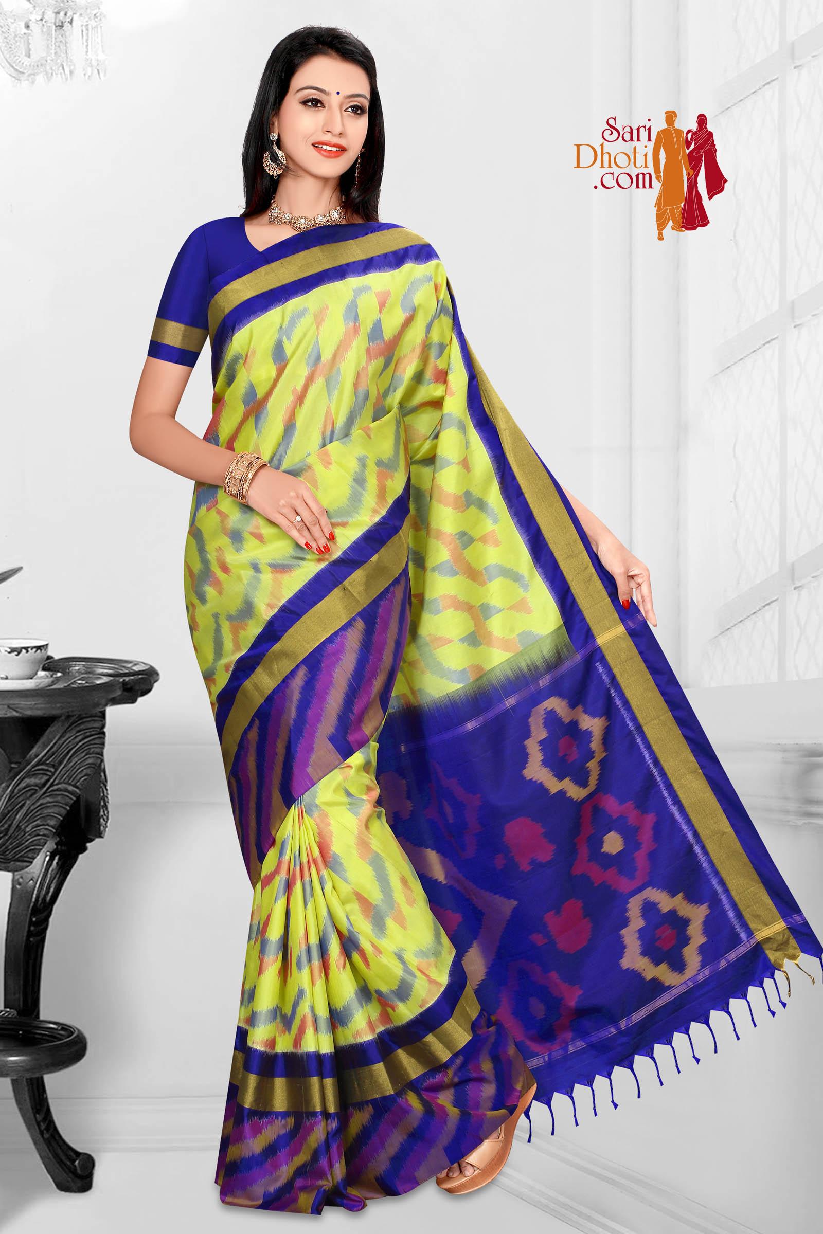 Soft Silk Saree 5869