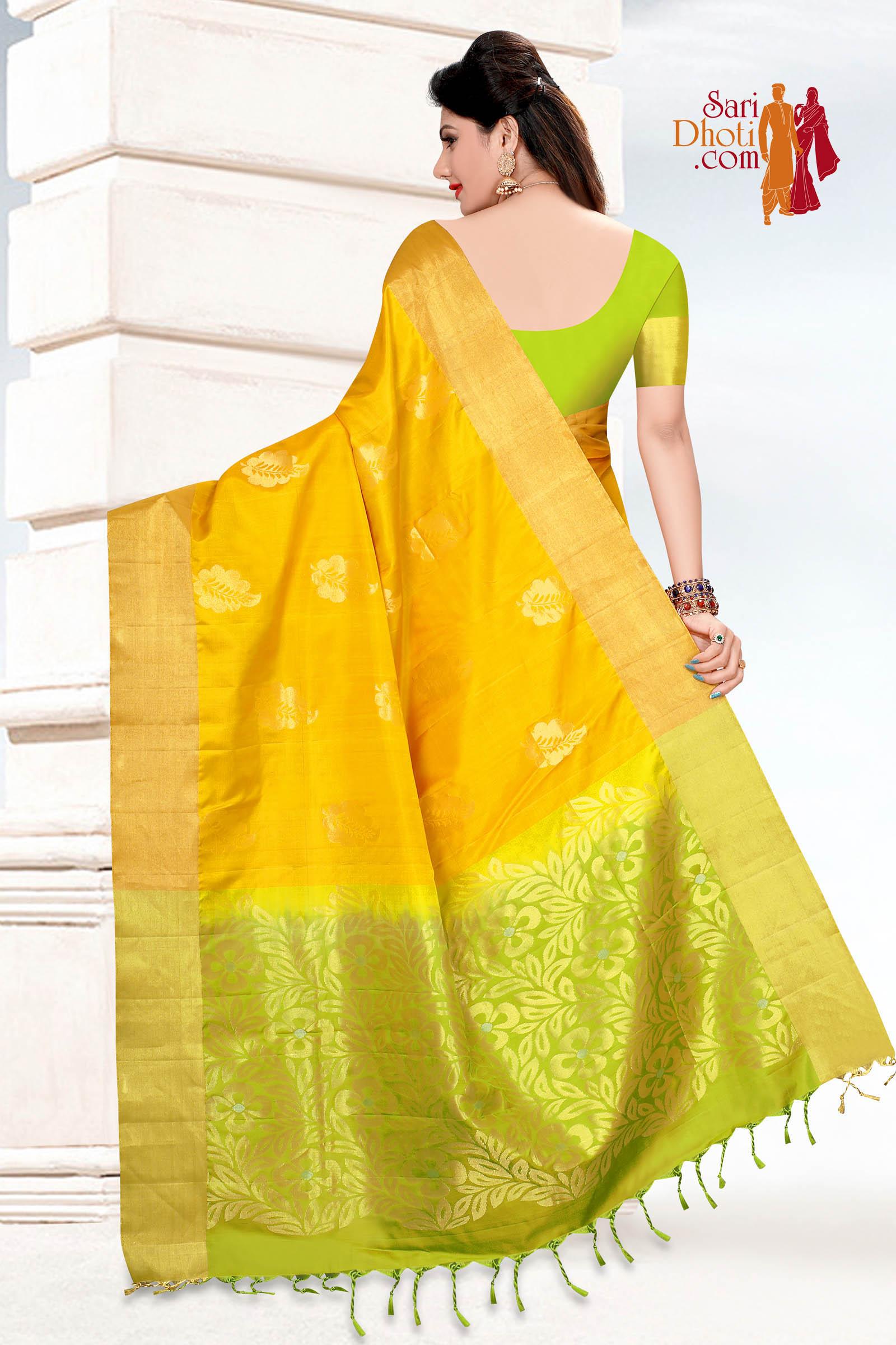Soft Silk Saree 5872