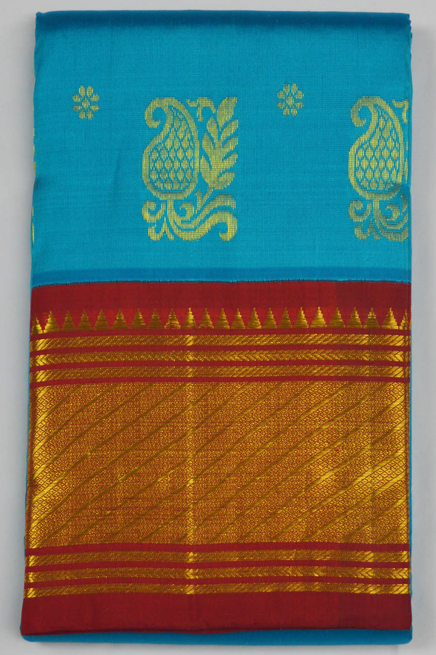 Temple Saree 6062