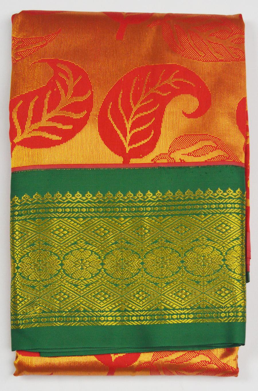 Temple Art Silk Saree 6075
