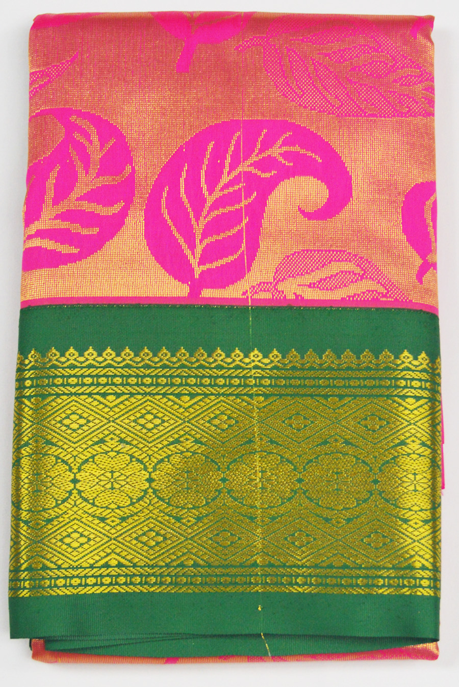 Temple Art Silk Saree 6076