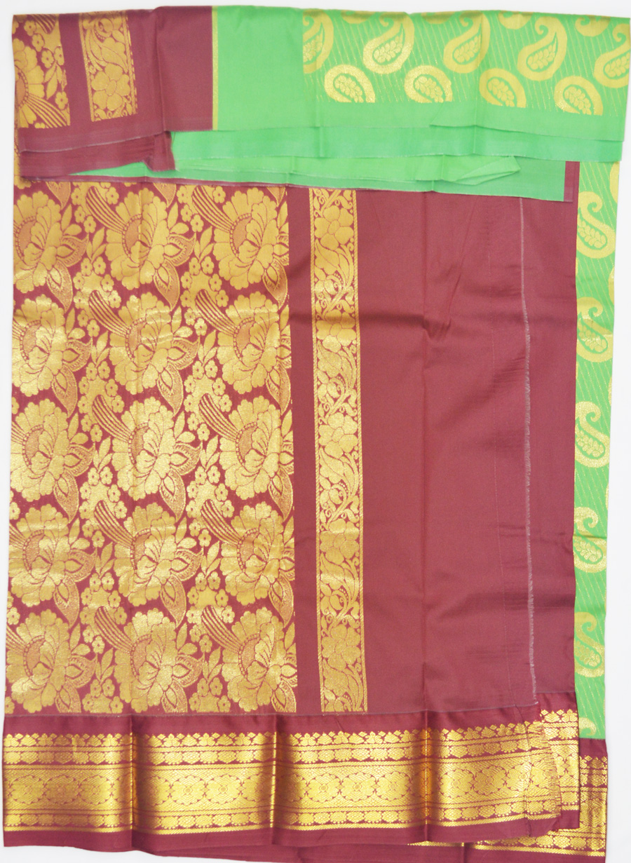 Temple Art Silk Saree 6077