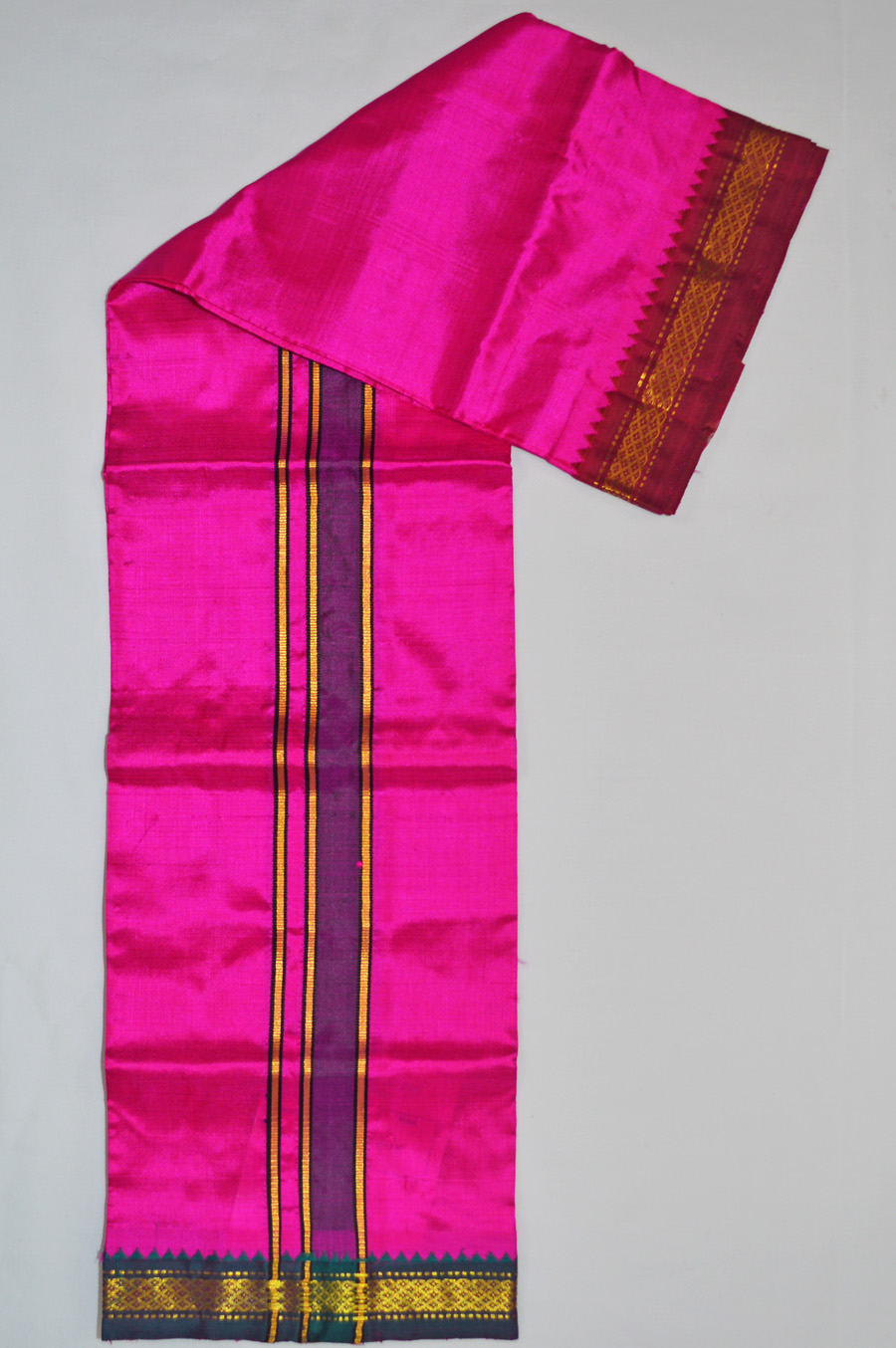 Silk Dhoti 8199