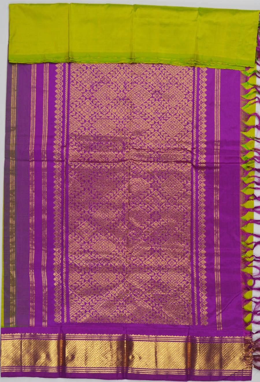 Temple Saree 5963