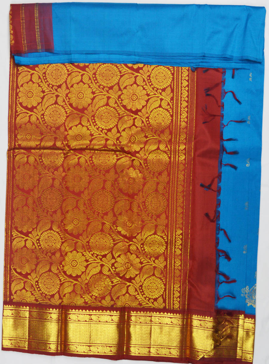 Temple Saree 6404