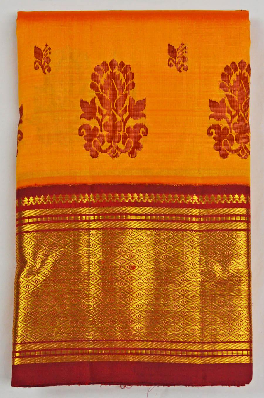Temple Saree 6452