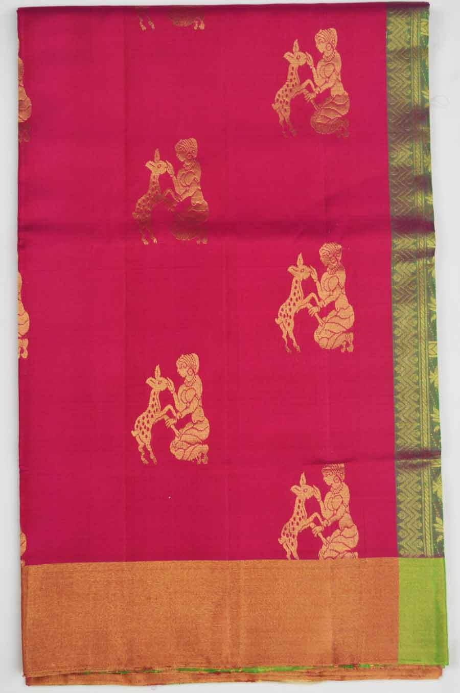Soft Silk Saree 7048