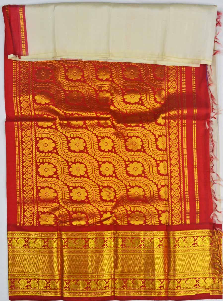 Temple Saree 6963