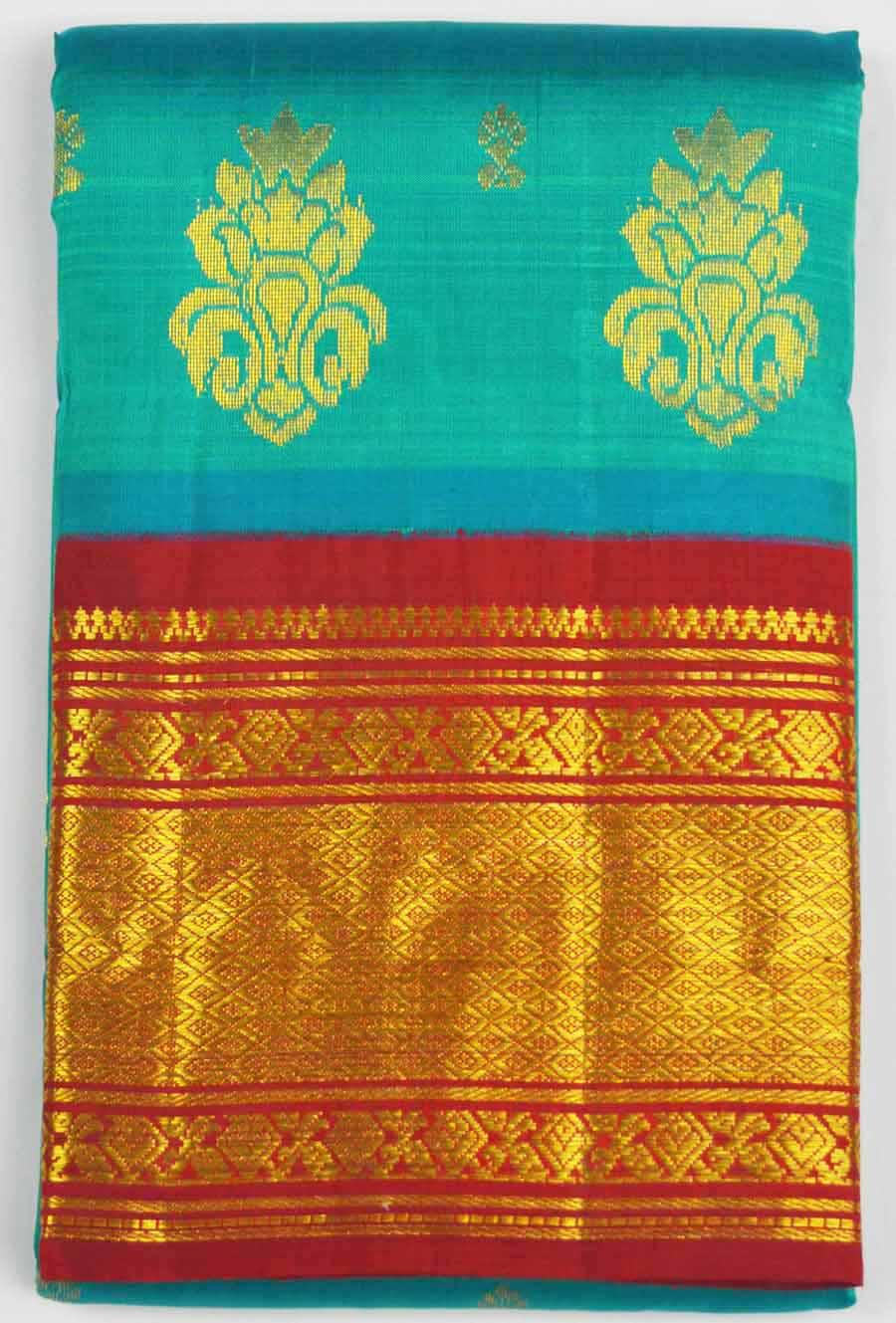 Temple Saree 7031