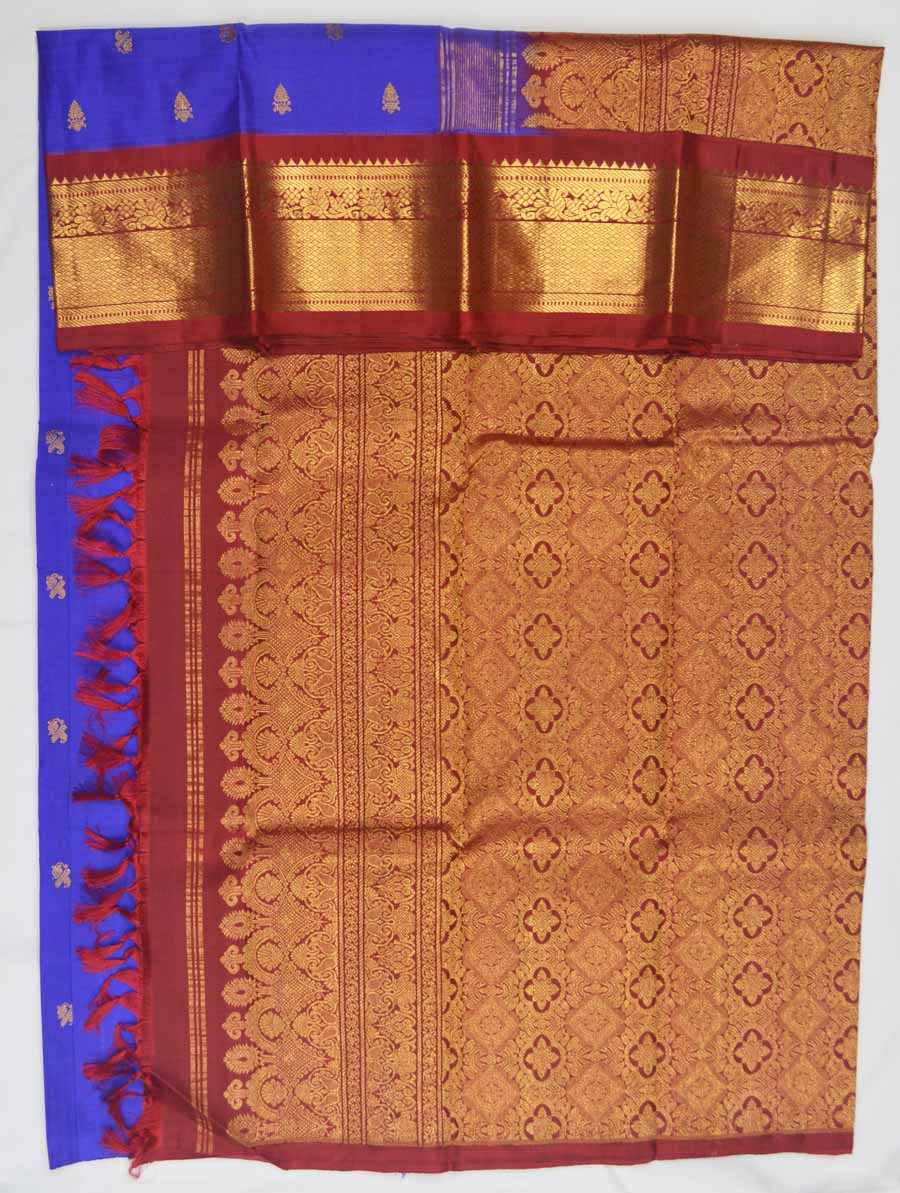 Temple Saree 6595