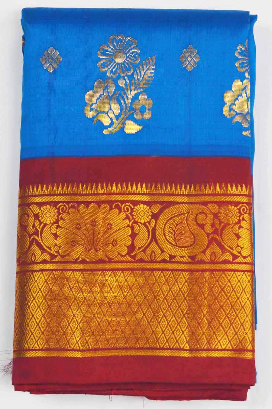 Temple Saree 7033