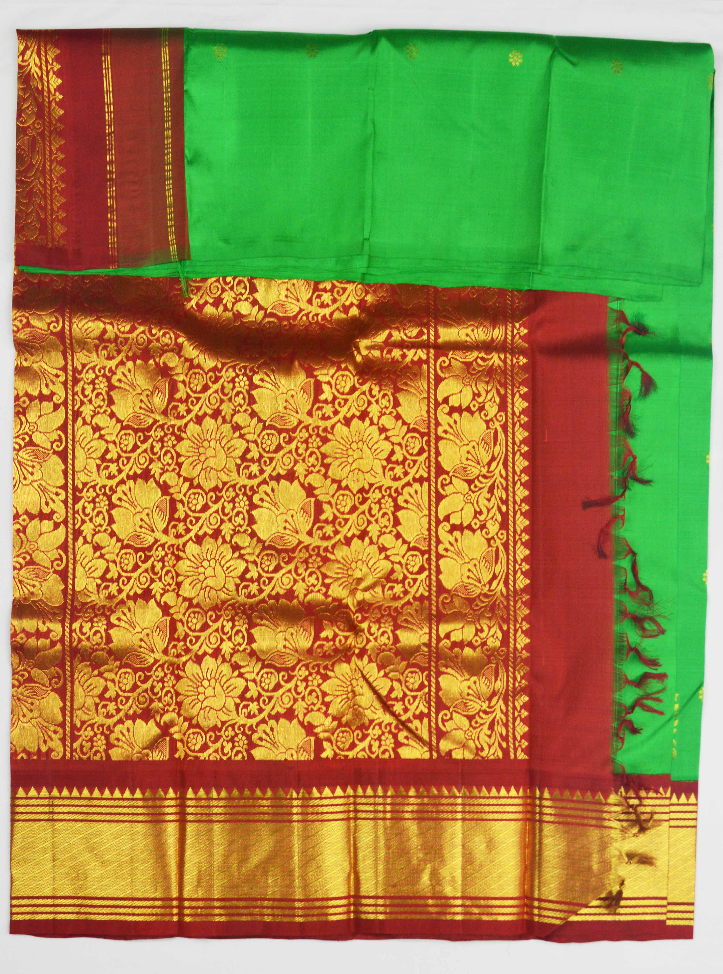Temple Saree 7030