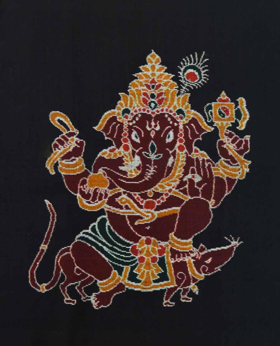 Ikat Ganesh 6839