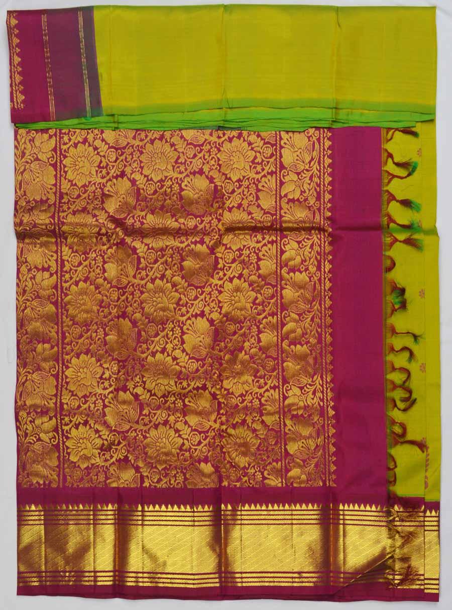 Temple Saree 7068