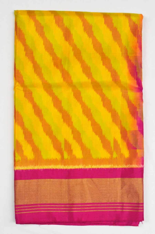 Soft Silk Ikkat Saree 7184