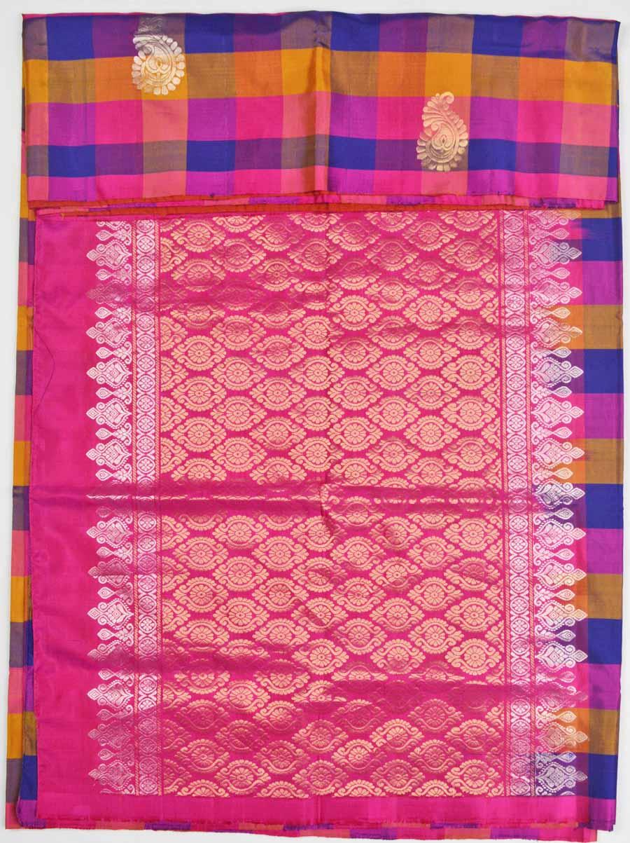 Soft Silk Saree 7166