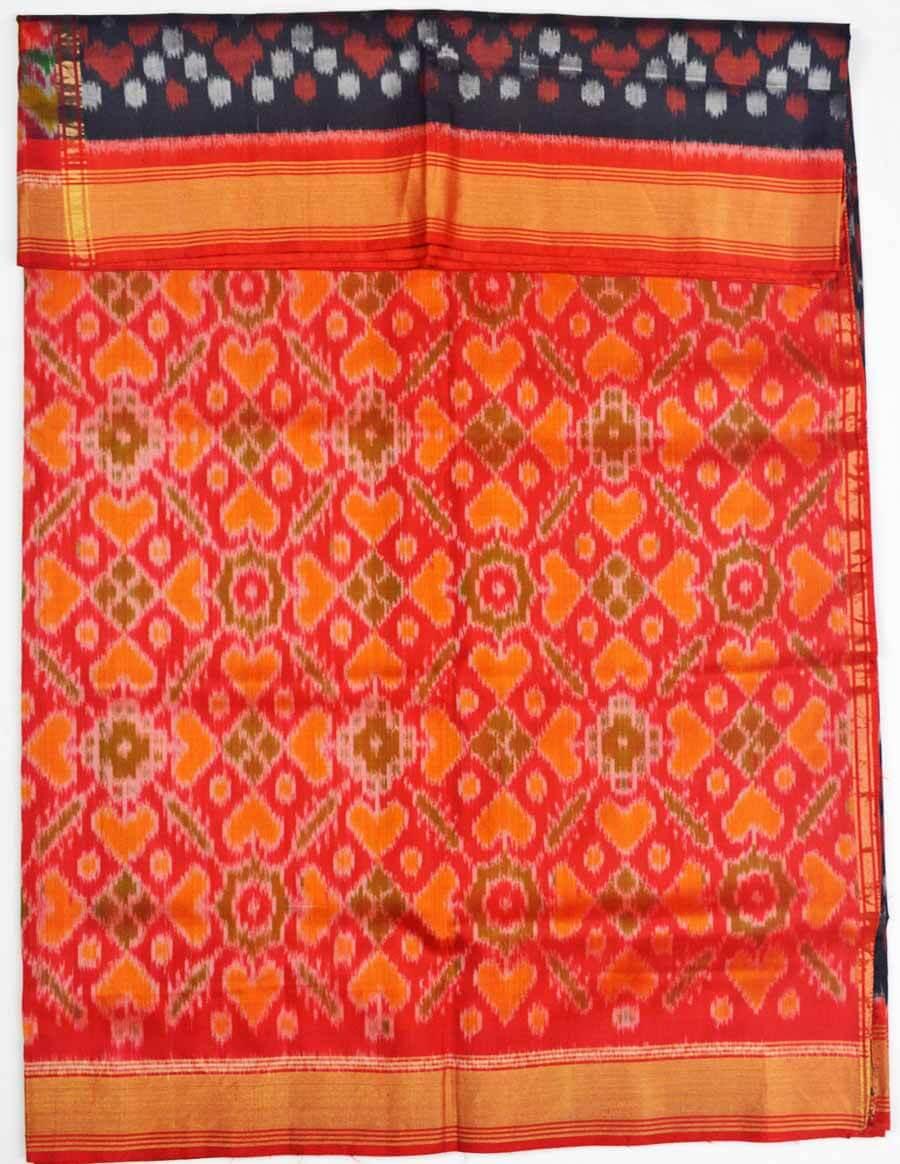 Soft Silk Ikkat Saree 7193