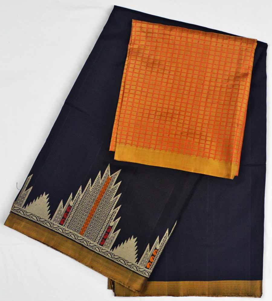 Soft Silk Saree 7177