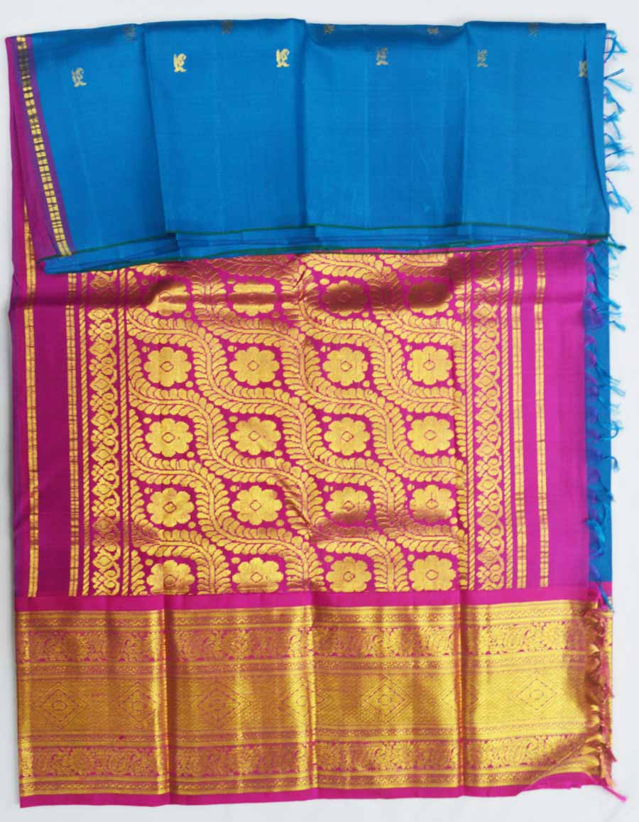 Temple Saree 7247