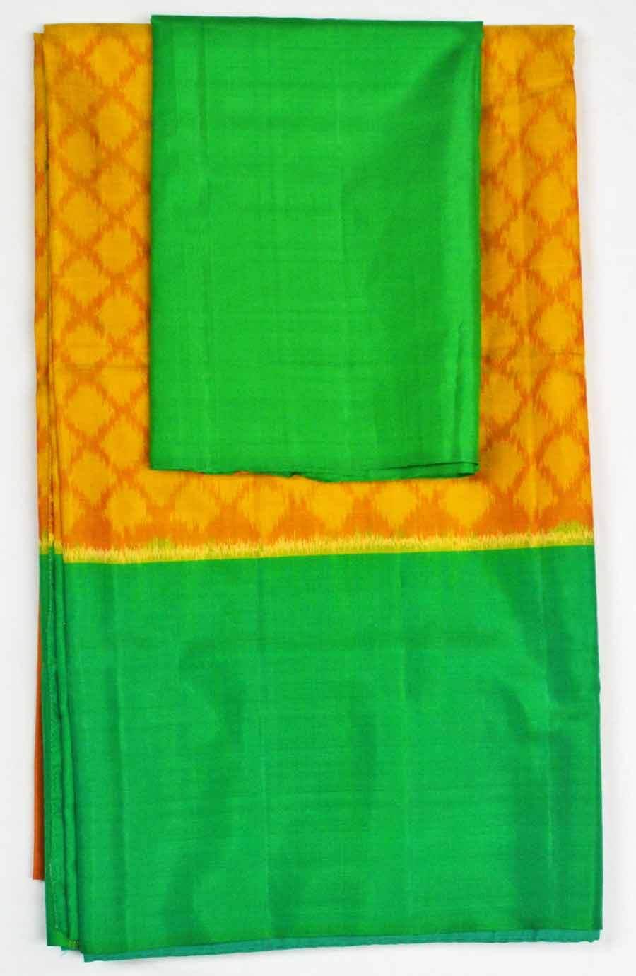 Soft Silk Ikkat Saree 7189