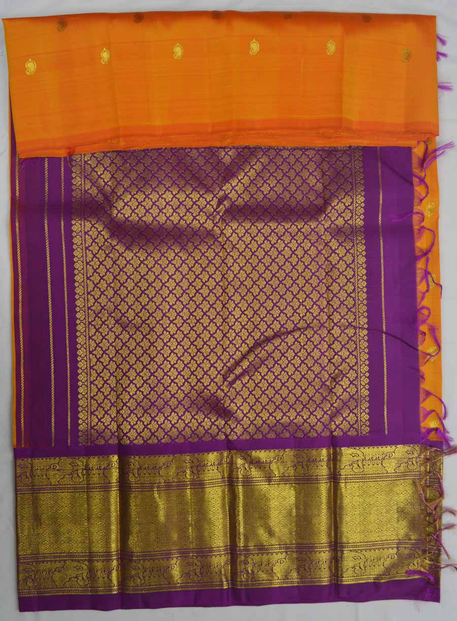 Temple Saree 7318