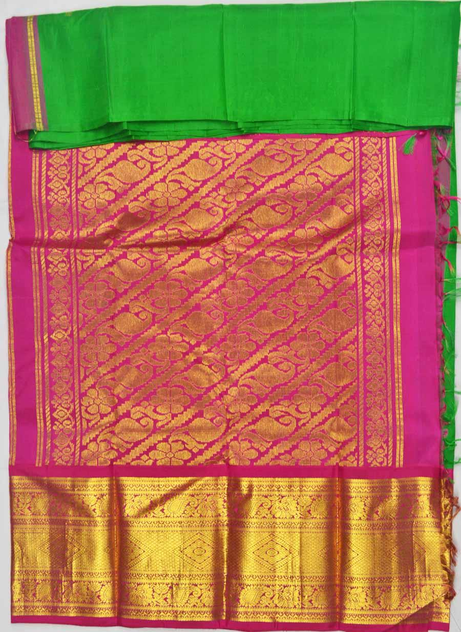 Temple Saree 7464
