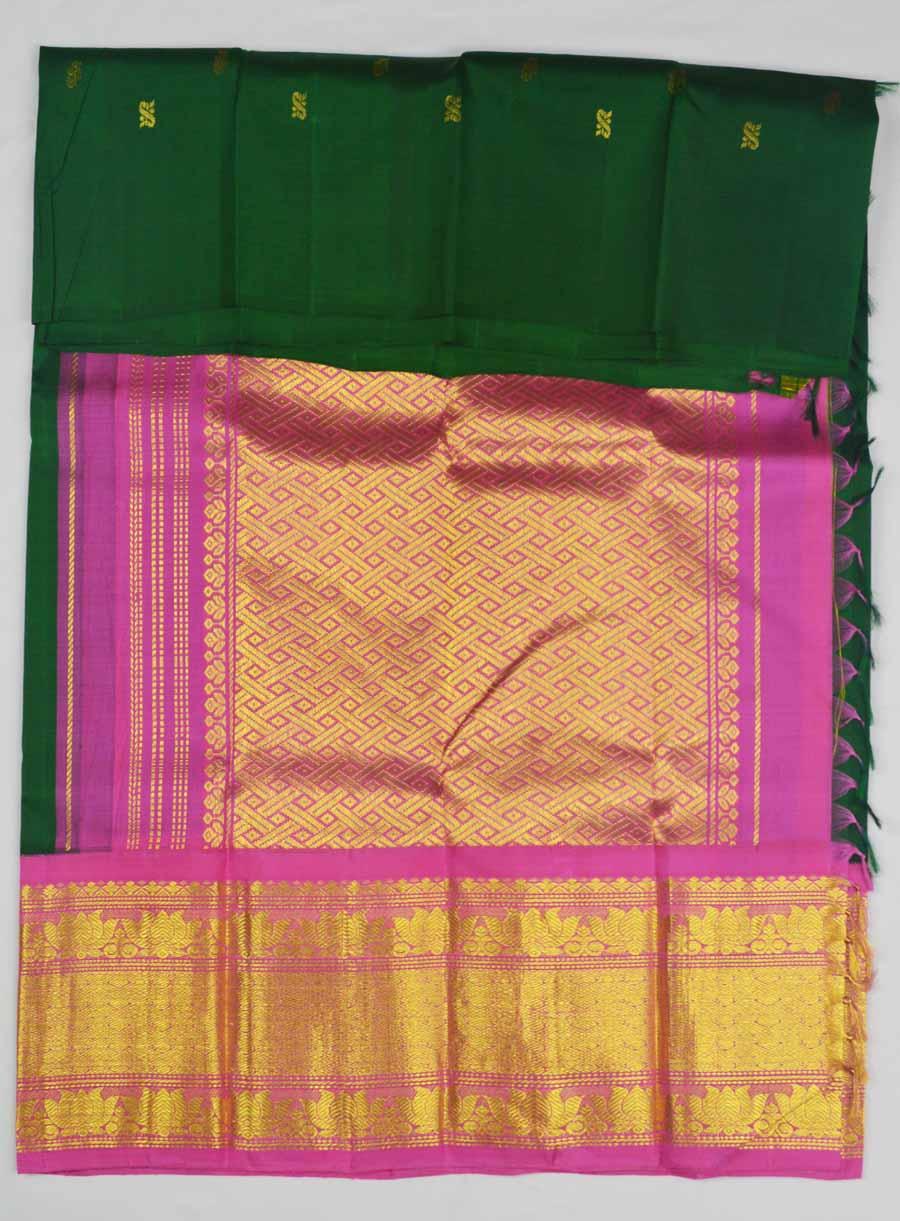 Temple Saree 7478