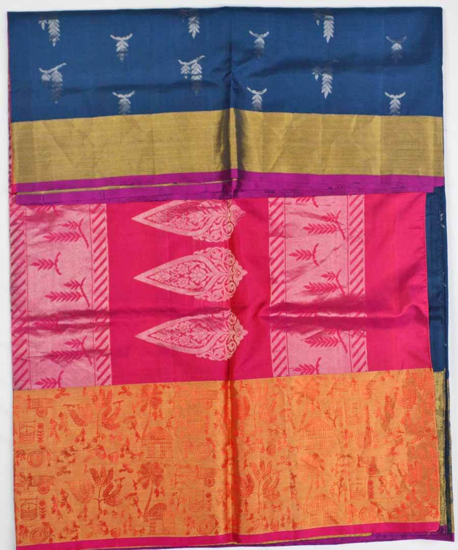 Soft Silk Saree 7503