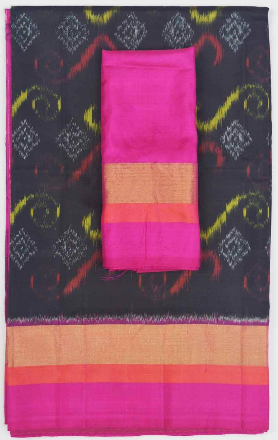 Soft Silk Saree 7507