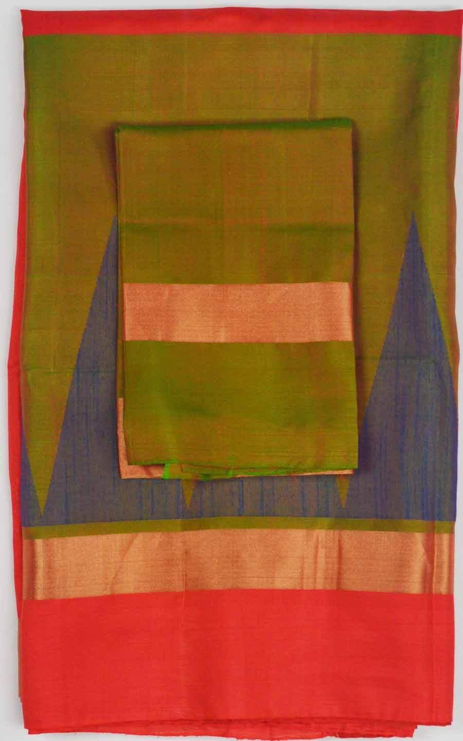 Soft Silk Saree 7557
