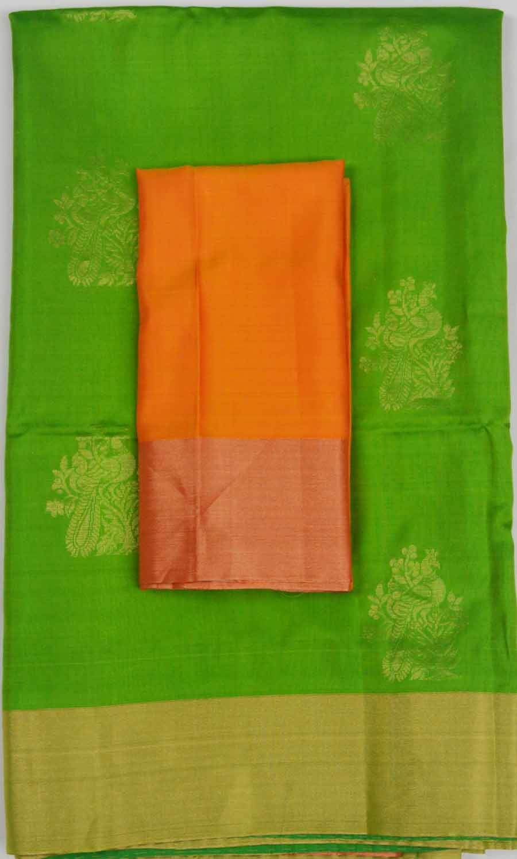 Soft Silk Saree 7556