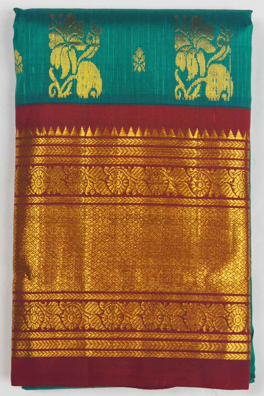 Temple Saree 7814