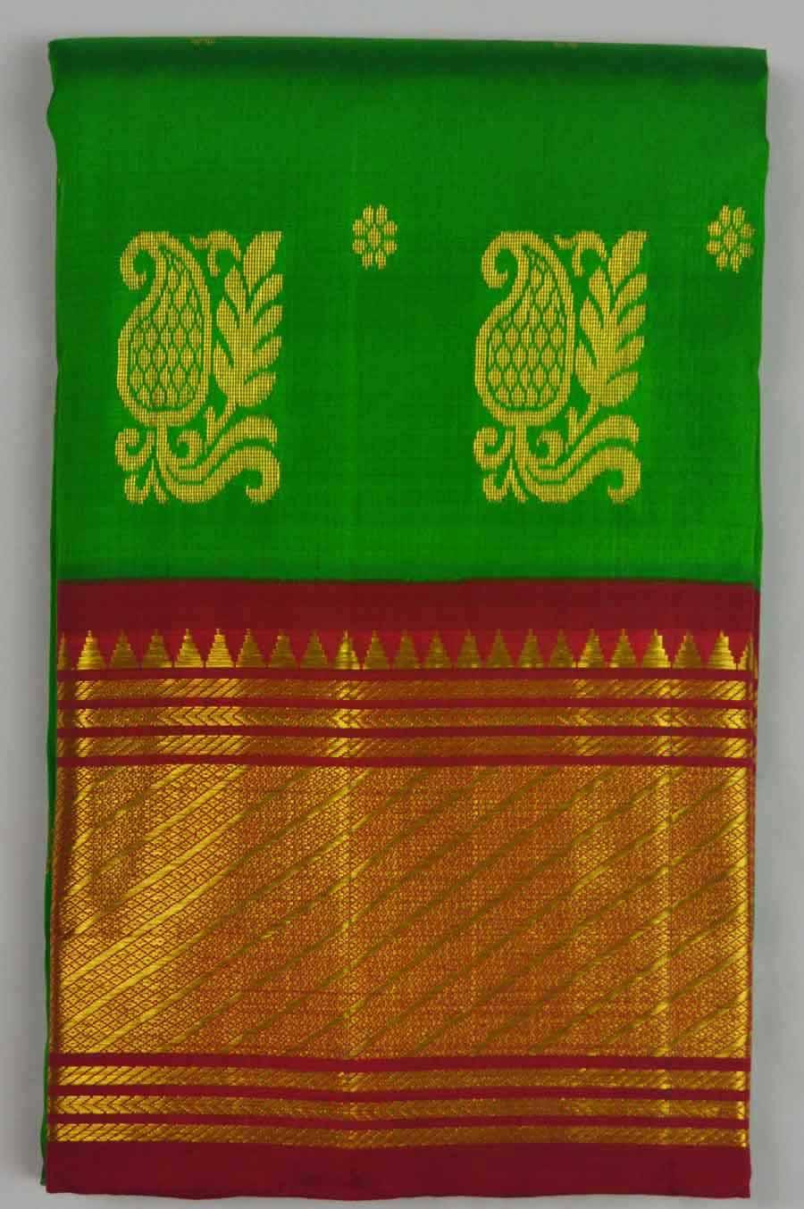 Temple Saree 7795