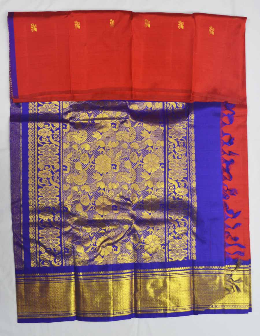 Temple Saree 7796