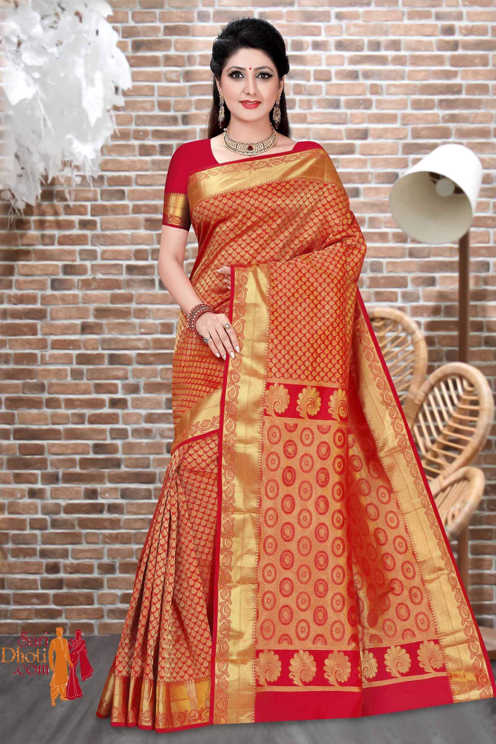 Dharmavaram Silk 7887