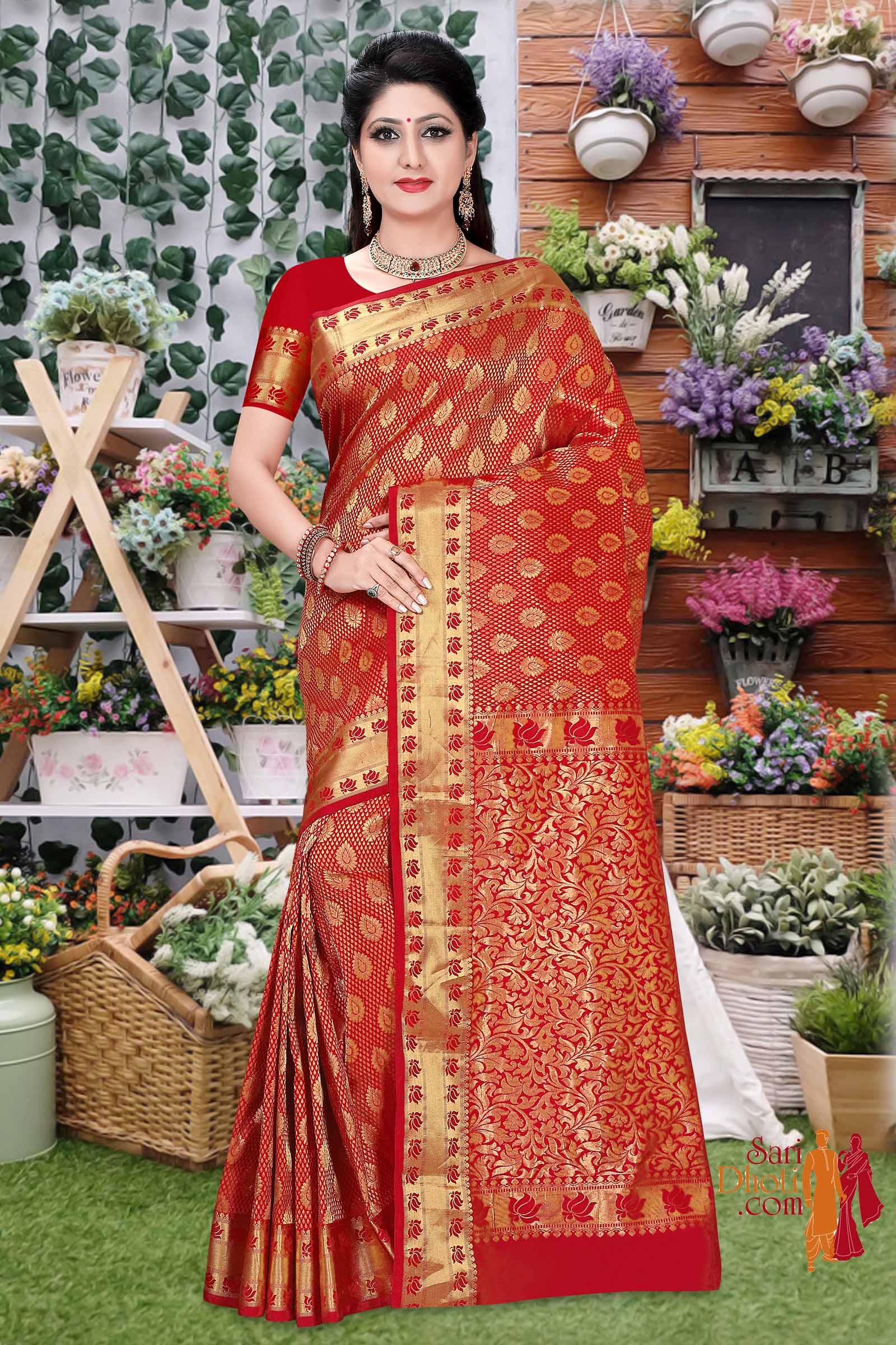 Dharmavaram Silk 7885